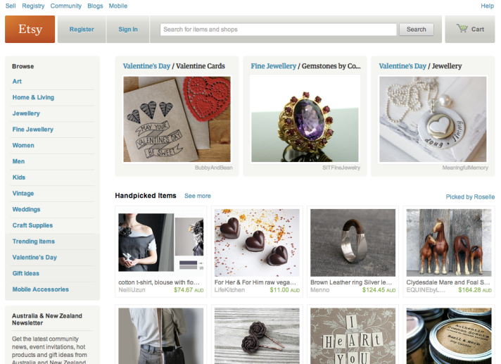 etsy-homepage