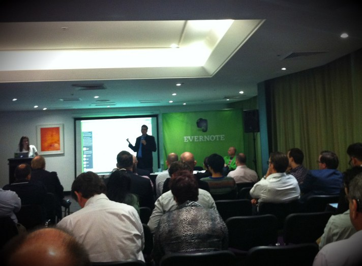 Evernote Business Launch