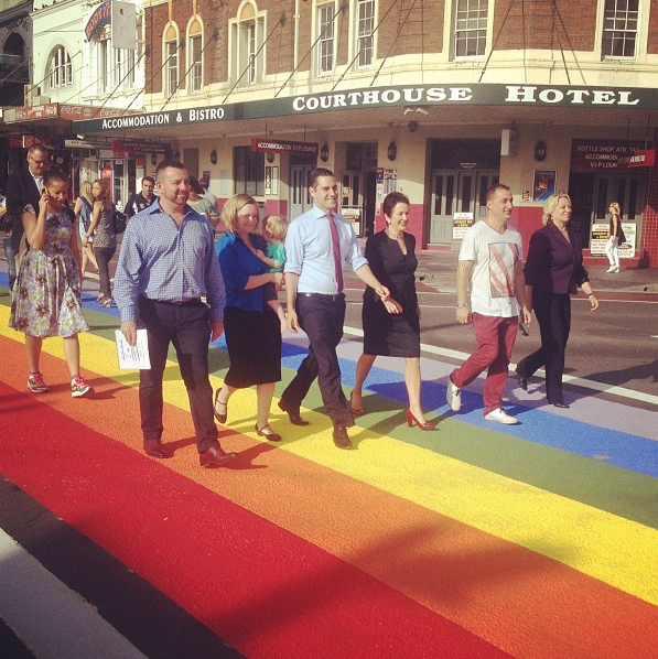 rainbow-crossing