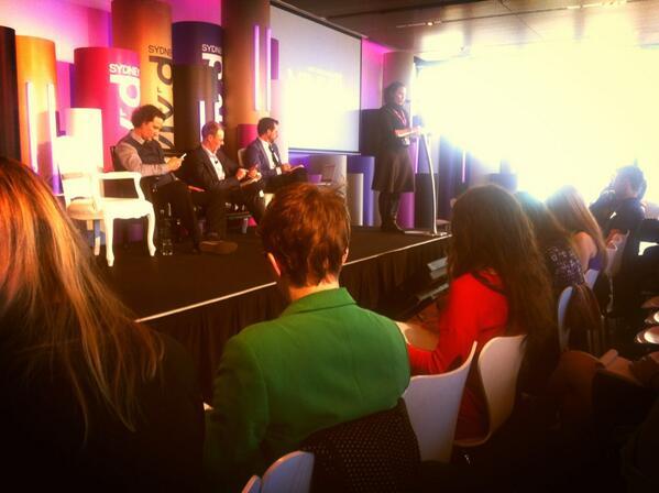 Panel discusses big Vivid Ideas