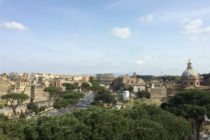 Rome city center, a pop-up guide to Rome. Photo by Krista Gray